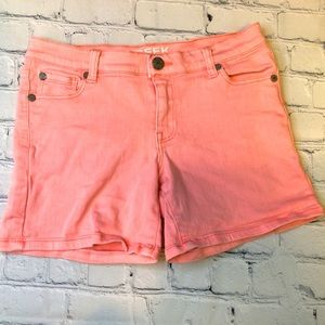 Peek Pink Shorts Girls Cute Like New